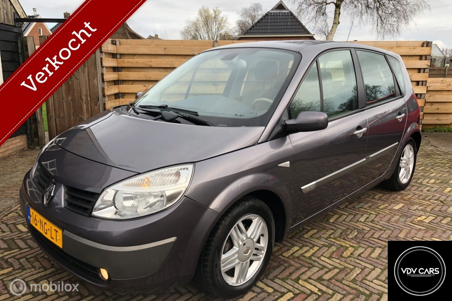 Renault Scenic 1.6-16V Authentique Luxe, Clima, trekhaak,