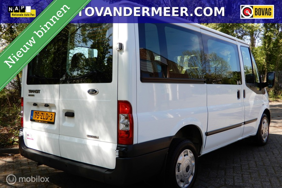 Ford Transit Combi 300S 2.2 TDCI TREND SHD 9 PERSOONS/ inclusief BTW