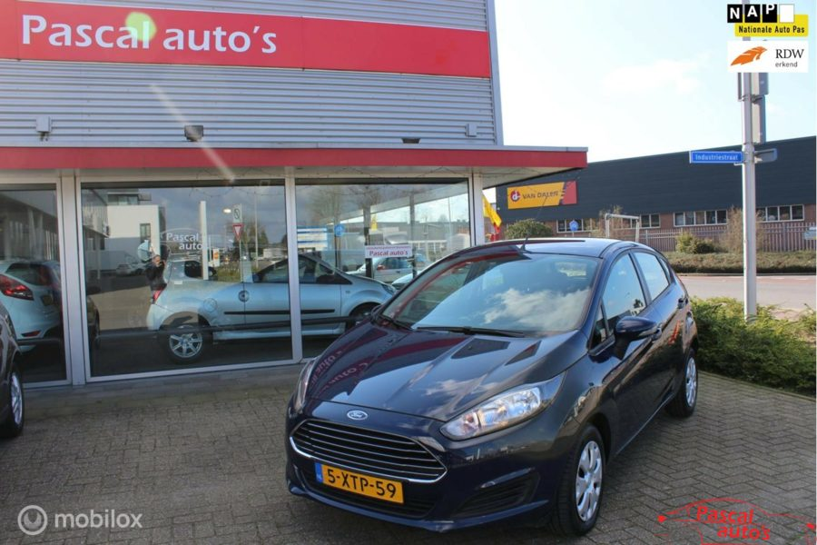 Ford Fiesta - 1.0 Style zo goed als nieuw nap apk airco?>