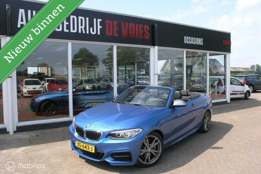 BMW 2-serie Cabrio M240i xDrive Full Options Camera Lane-assist