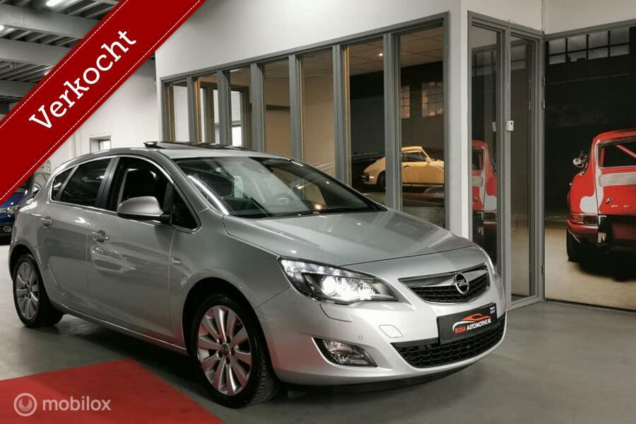 VERKOCHT!!  Opel Astra 1.6 TURBO 180PK! XENON NAVI LEER STOELVERW. OPENDAK CRUISE VOL OPTIES!!