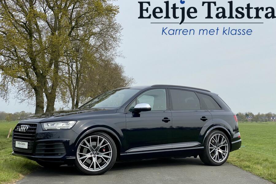 """Audi SQ7 quattro, 22"""", zwart optiek, standkachel, topstaat!"""