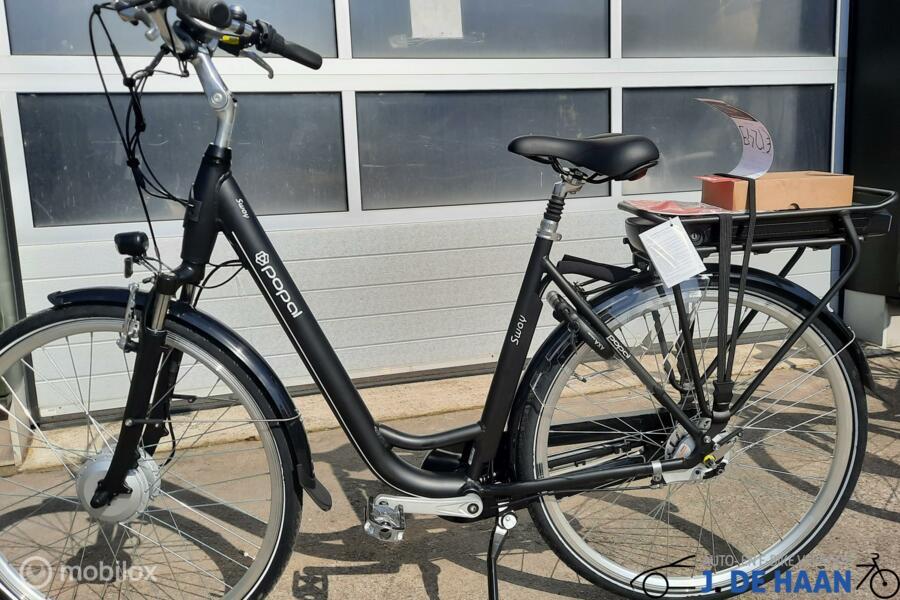 Popal Sway ebike 2021 met 486 watt accu