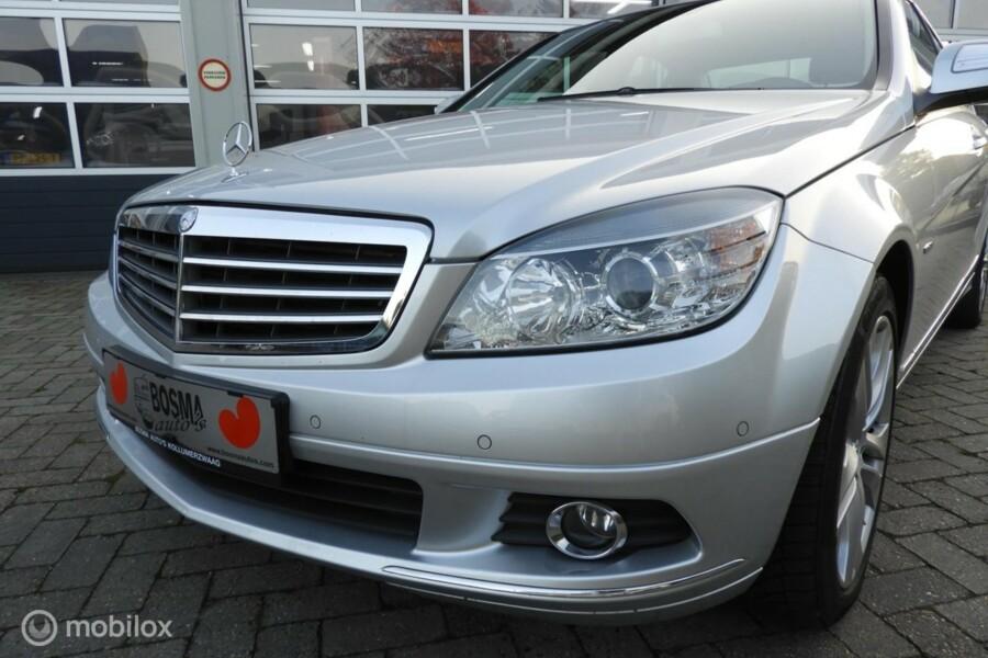 Mercedes-Benz C-klasse - 220 CDI BlueEFFICIENCY vol lederen interieur