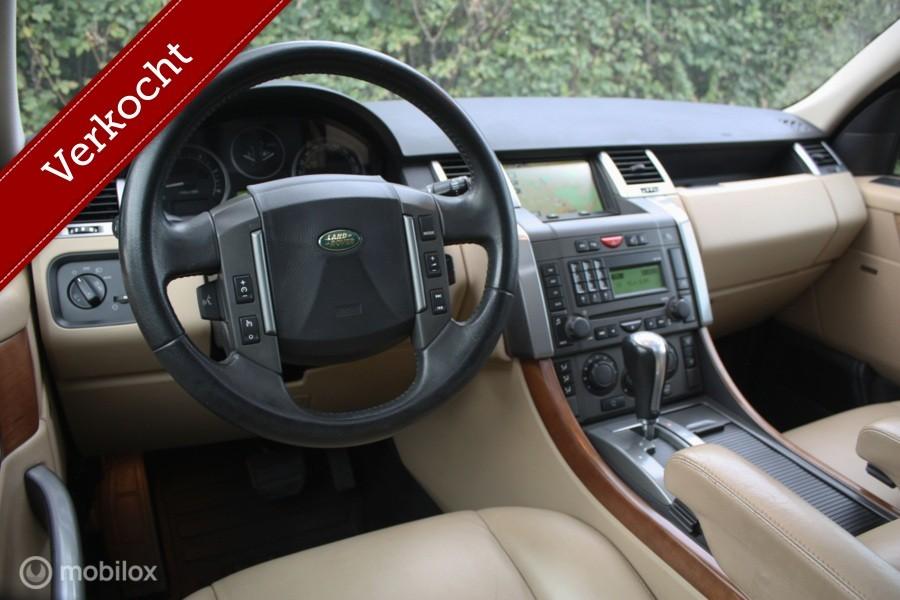 Range Rover Sport 2.7 TdV6 schuifdak/leer   bijna youngtimer