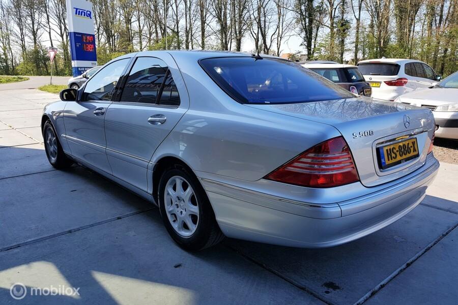 Mercedes S-klasse 500 S (W220) Km.st 41.346, BTW auto, Youngtimer!