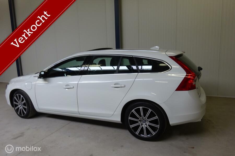 Volvo V60 2.4 D6 Hybrid AWD Summum 131.457 km !!!! Marge dus geen BTW