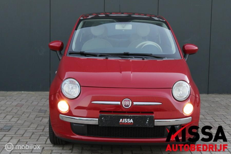 Fiat 500 1.2 Lounge Airco/Stuurwiel bediening/APK 12-01-2022