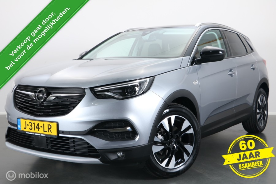 Opel Grandland X 1.2 TURBO ULTIMATE - CAMERA - AGR - LED - ELEKTR-KLEP