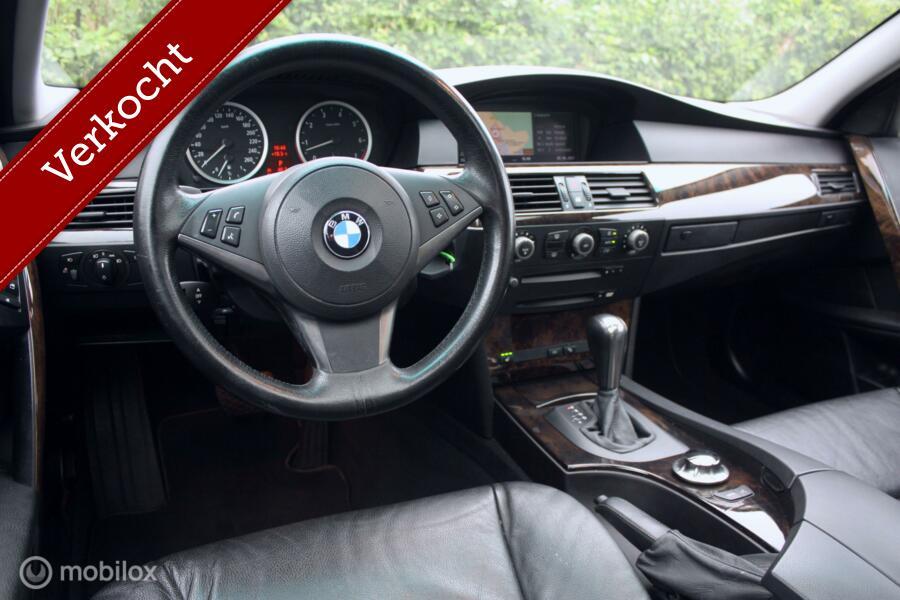 Youngtimer BMW 525i Touring AUT High Exec panorama/carkit