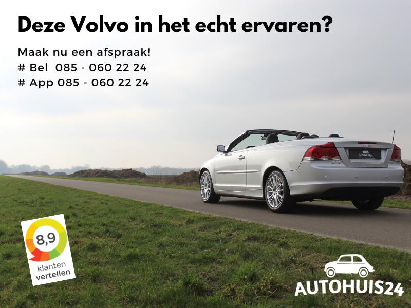 Volvo C70 Convertible 2.4i 170pk Summum #Verkocht!