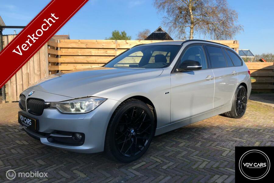 BMW 3-serie Touring 184pk High Exe Sport, Xenon,Leder,GrtNAV