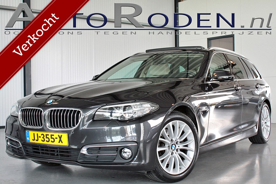 BMW 5-serie Touring 520i High Executive Luxury Line Panodak