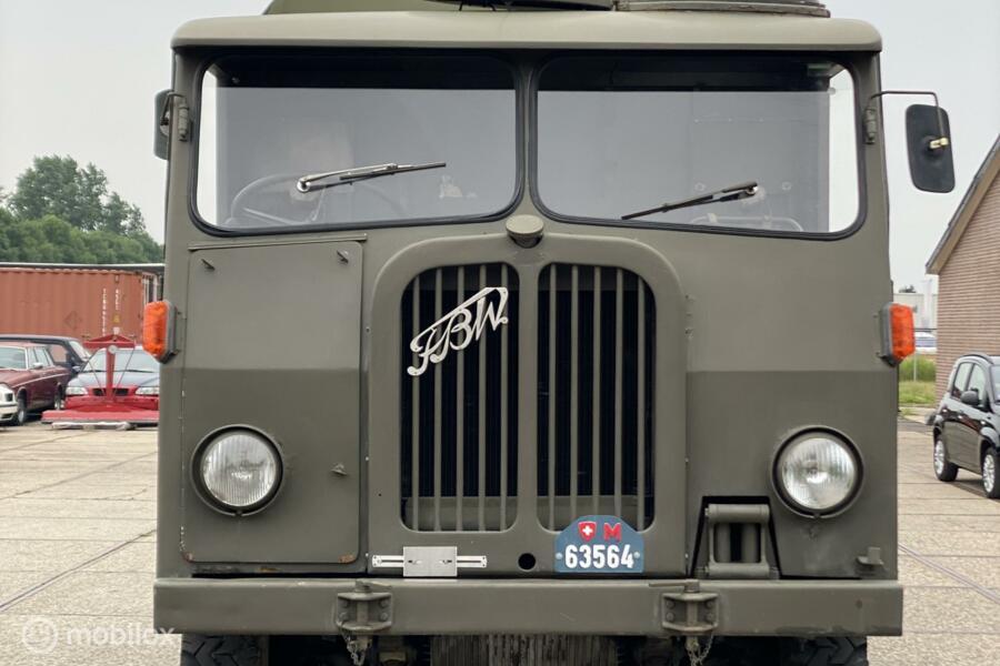 FBW AX 40 4x4 1954 Sauer Berna