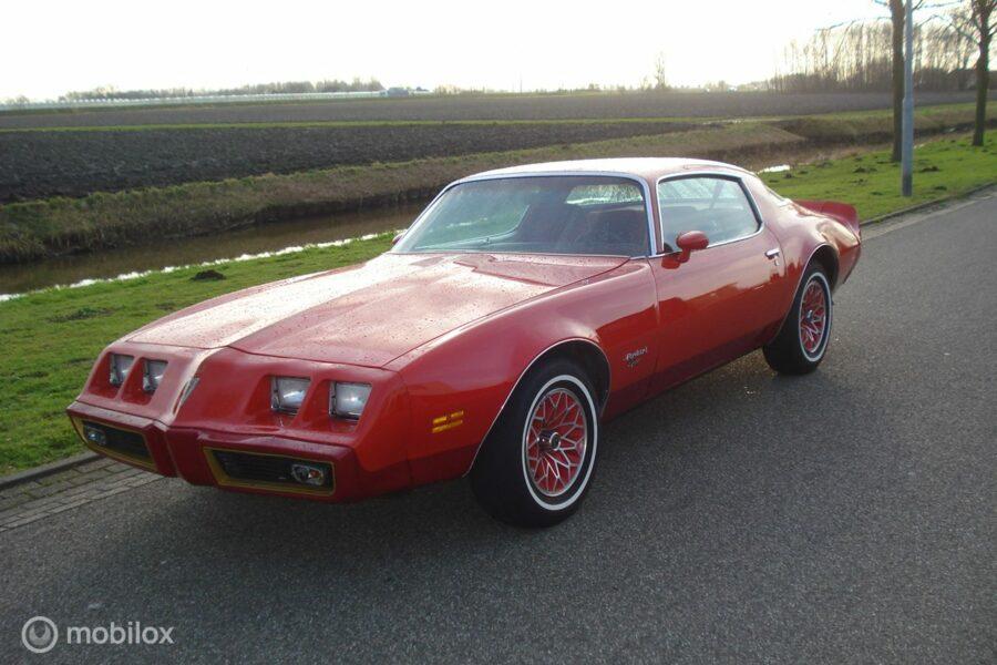 Pontiac Firebird - Redbird 4.9 v8