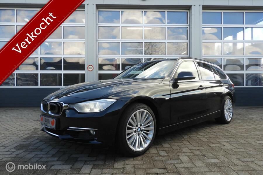 BMW 3-serie Touring 320i High Executive , Xenon , Leder