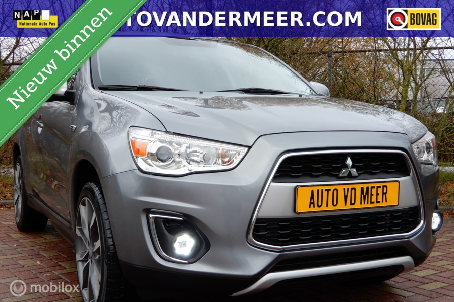 Mitsubishi ASX 1.6 Cleartec Intense NAVI/CAMERA/LED/STOELVW/CRUISE.CONTR./ETC.!?>