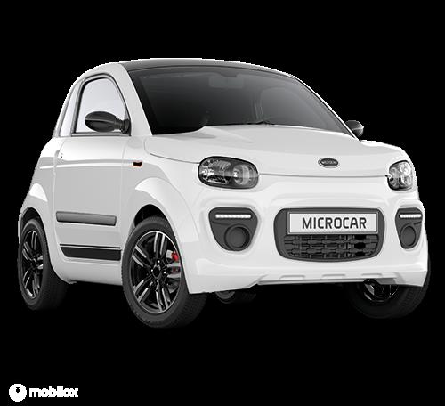 Microcar Dué 6 Plus wit 2 jaar garantie vanaf €9.995,-
