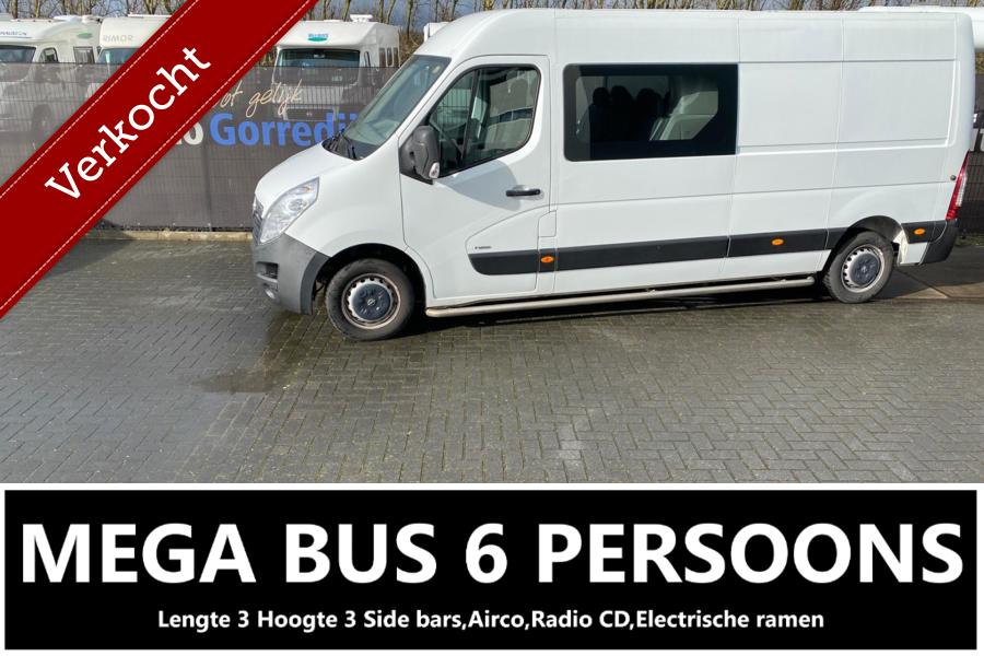 Opel Movano bestel 2.3 CDTI L3H2 DC Selection 6 Persoons