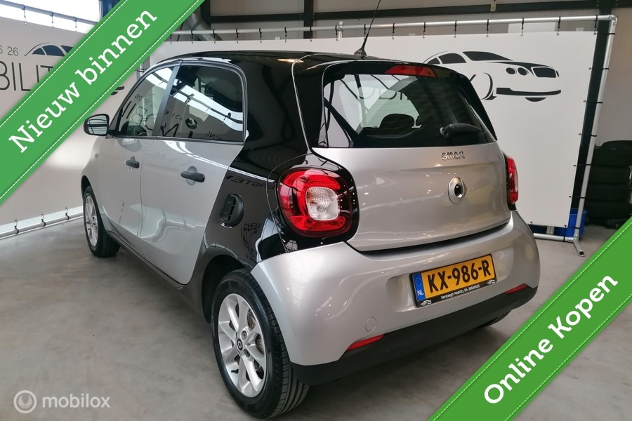 Smart forfour 1.0 Pure, Bluetooth, Clima, Cruise Control
