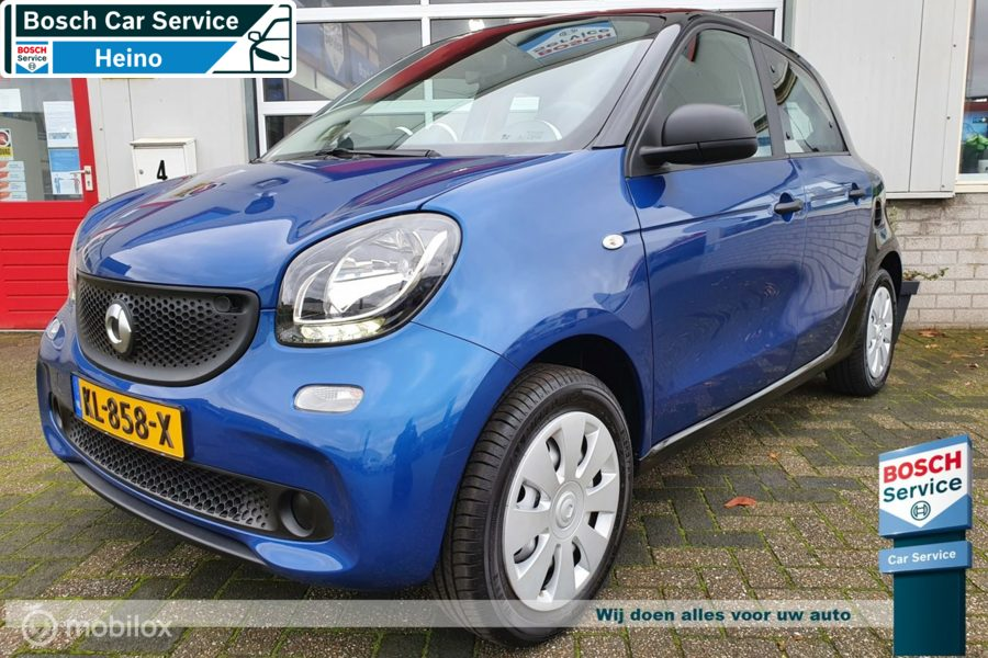 Smart Forfour 1.0 Pure   Airco   Cruise   Bluetooth   Isofix  