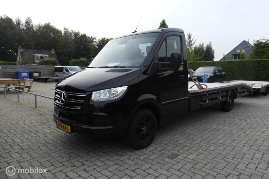 Mercedes Sprinter bestel 519 CDI Oprijwagen , autotransporter