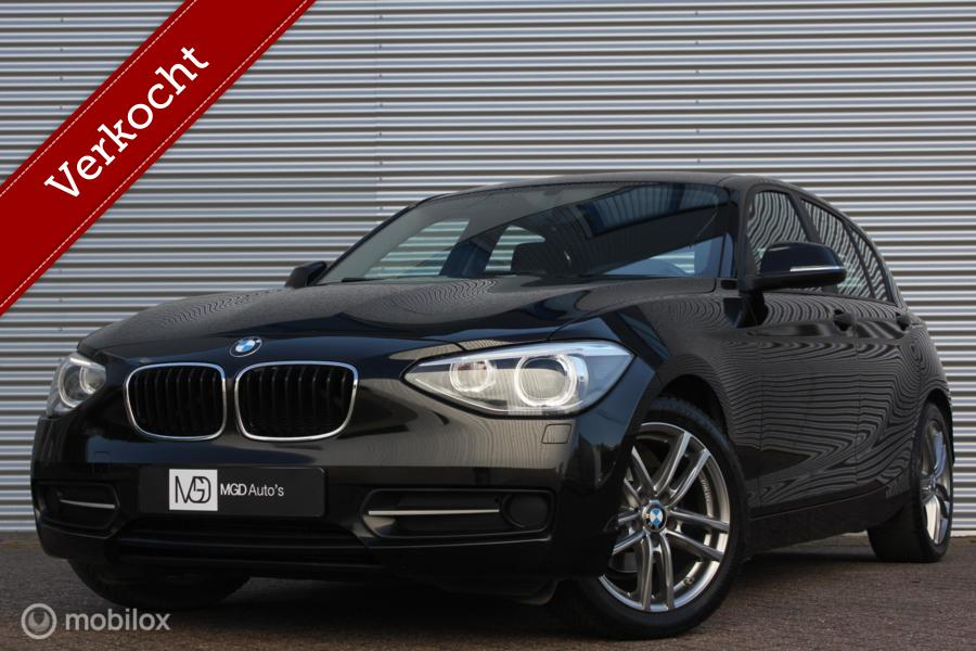 BMW 1-serie 116i Sport Line /AUTOMAAT/XENON/LED/STOELVERW./BLUETOOTH/PDC!