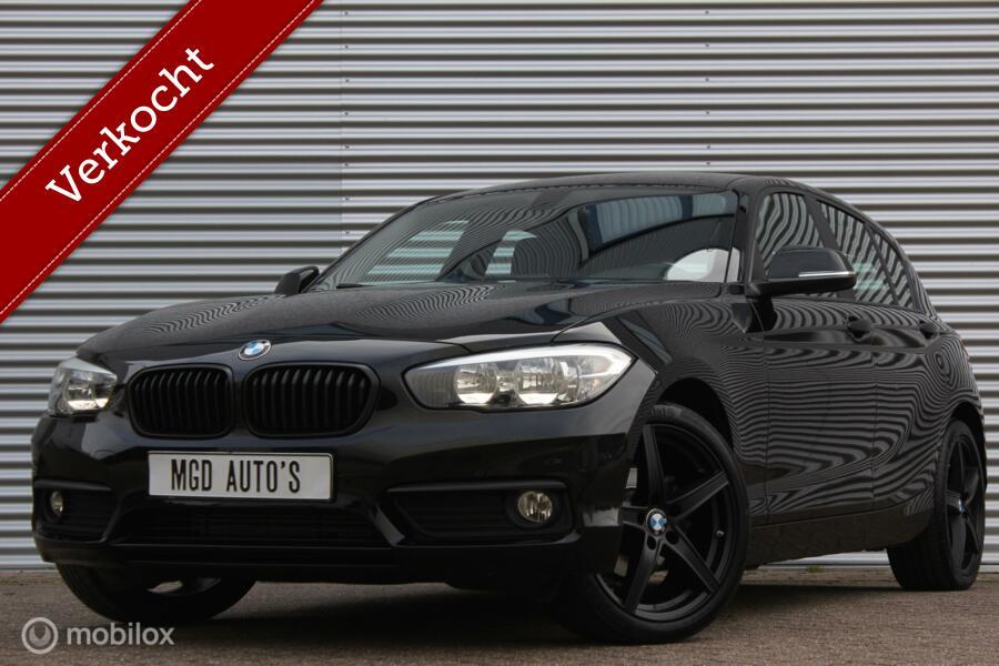 BMW 1-serie 118i Sport /LED/18'' VELGEN/STOELVERW./CRUISE/BLUETOOTH/PDC!