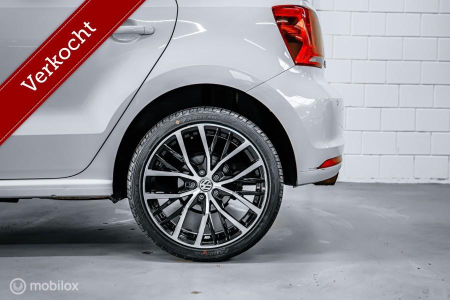 Volkswagen Polo 1.2 TSI 90 PK HIGHLINE NAVIGATIE PDC CRUISE STOELVERW.  BLEUTOOTH  17 inch velgen bluemotion