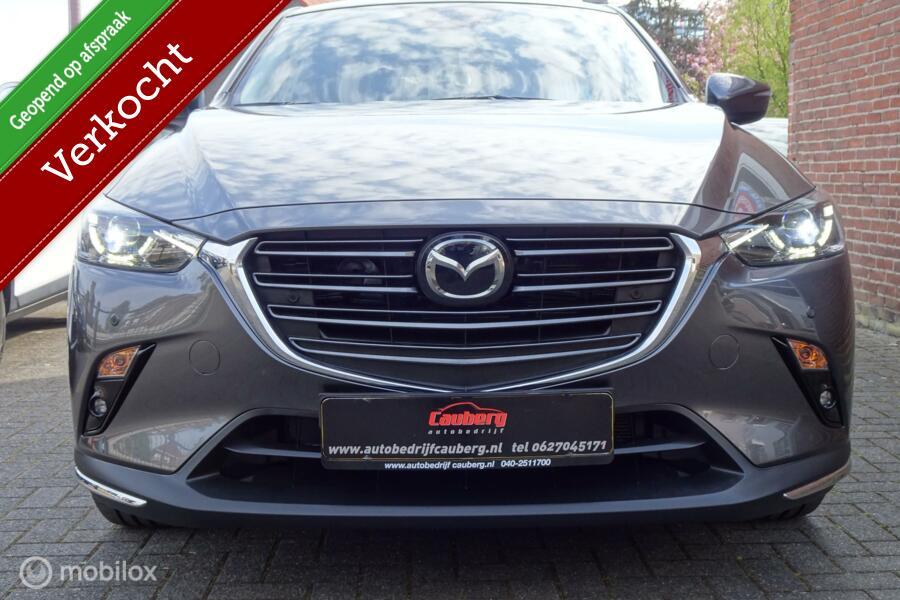 Mazda CX-3 2.0 SkyActiv-G 120 GT-M Navigatie Camera Leer Ad.Cruise Head-Up Bose !!!