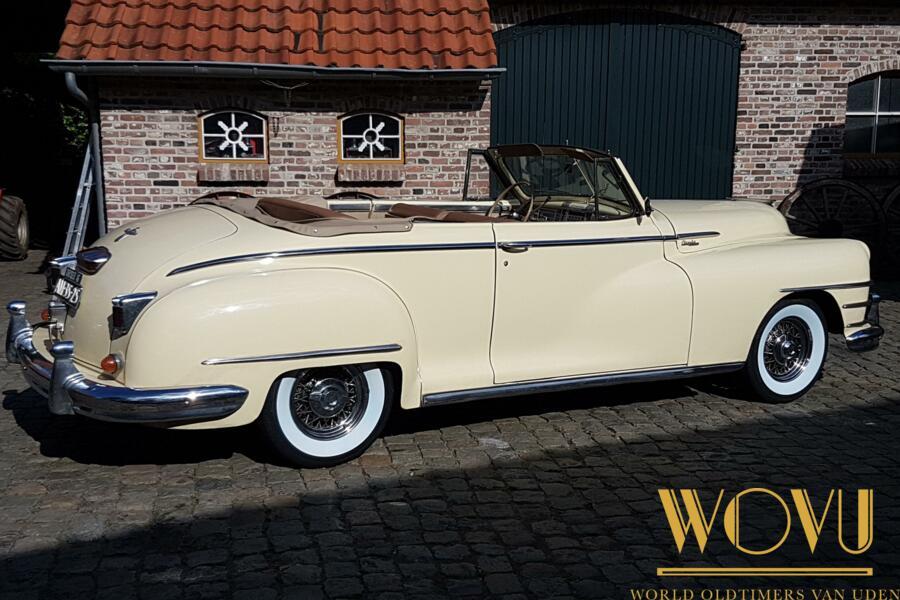 Chrysler  cabriolet Windsor 1946