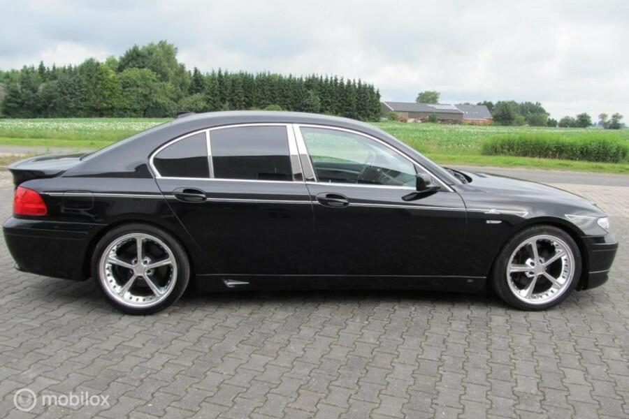 BMW 745 , model E 65 AC schnitzer YOUNGTIMER 66341 KM top