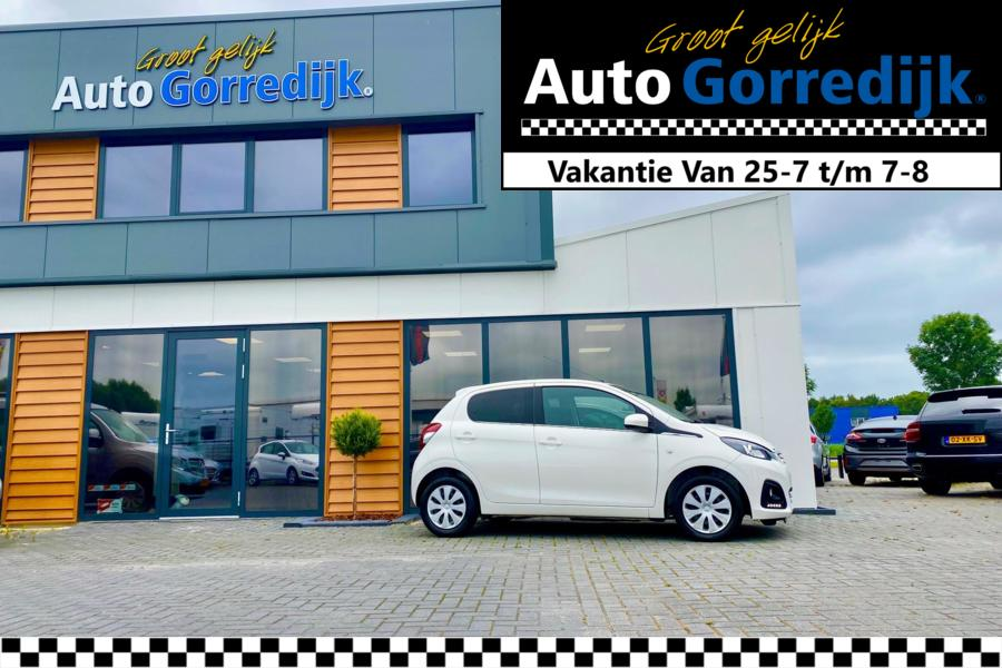 Peugeot 108  Active TOP! Airco,Led,Chrome,privacy glas