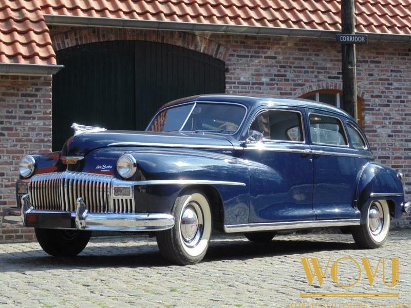 Desoto limousine 1947 in perfecte staat