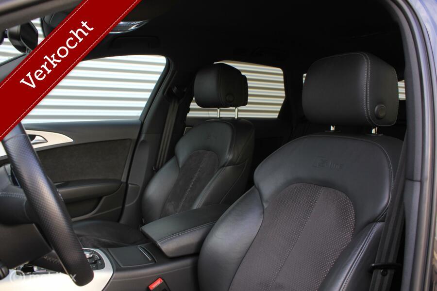 Audi A6 Avant 2.0 TFSI Sport S-Line Automaat /XENON/LED/CAMERA/NAVI/STOELVERW./20 INCH/PDC!
