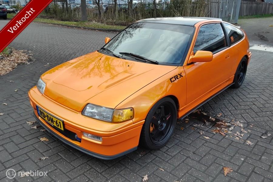 Honda Civic Coupé CRX 1.8 DOHC VTEC JDM B18C Turbo built 274pk ED9