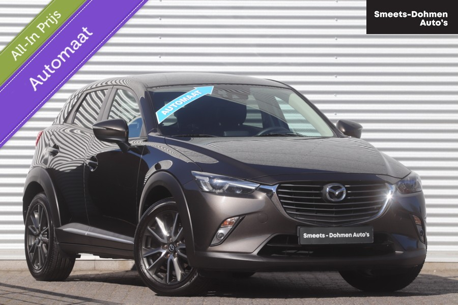 Mazda CX-3 2.0 SkyActiv-G 150 GT-M 4WD Automaat | ZONDAGS OPEN!