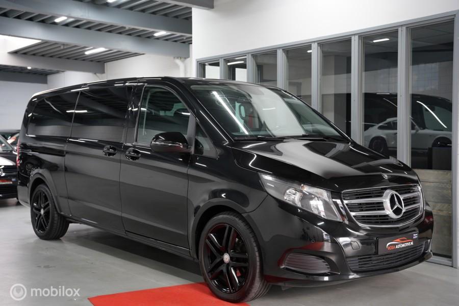 Mercedes V-klasse 220d XXL 2X SCHUIFDEUR  8 PERSOONS CAMERA PDC AUTOMAAT ZEER NETJES