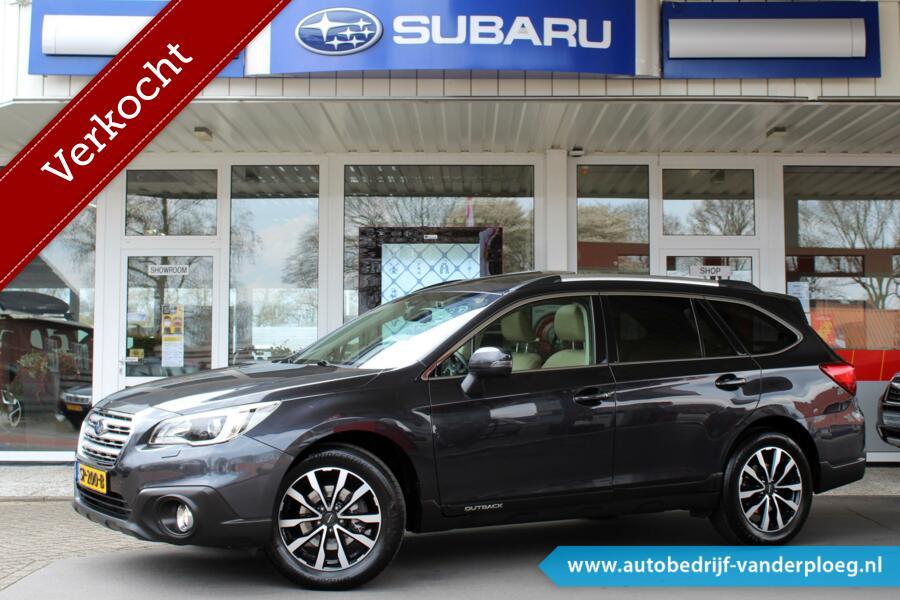 Subaru Outback 2.5 CVT Premium * Trekhaak * Navigatie * Parkeersensoren * Harman Kardon