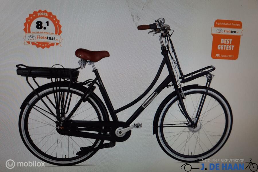 Popal Daly Dutch prestige  E N7 best geteste e bike 2021