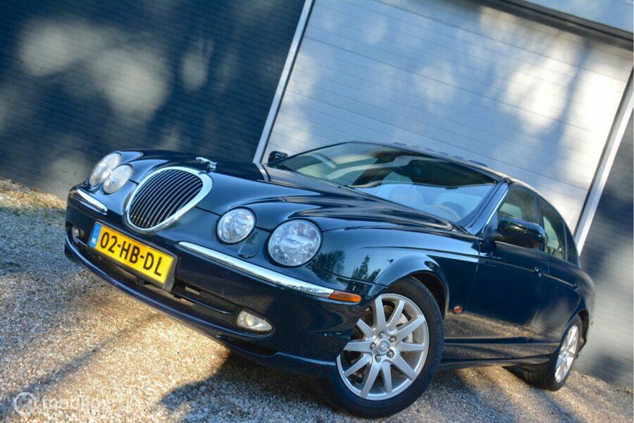 Jaguar S-type - 3.0 V6 Executive Automaat/ Schuifdak/ Navigatie/ Youngtimer