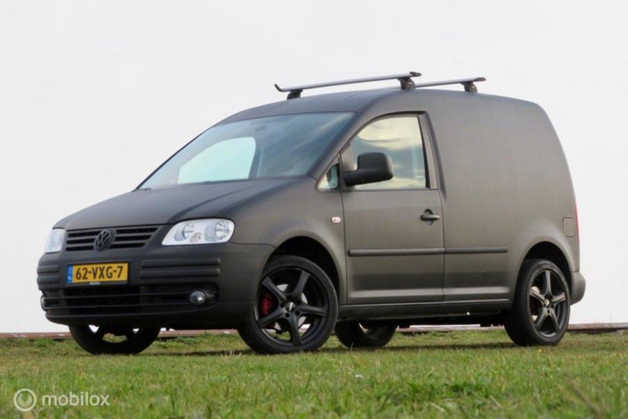 Volkswagen Caddy 1.9 TDI   AUTOMAAT   MARGE   AIRCO   NAVIA