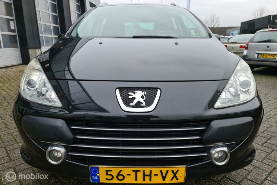 Peugeot 307 SW 1.6-16V Pack 7pers. # APK 12-2021 / Airco-Clima / Pano / NAP 154.374 / Afn. trkhk
