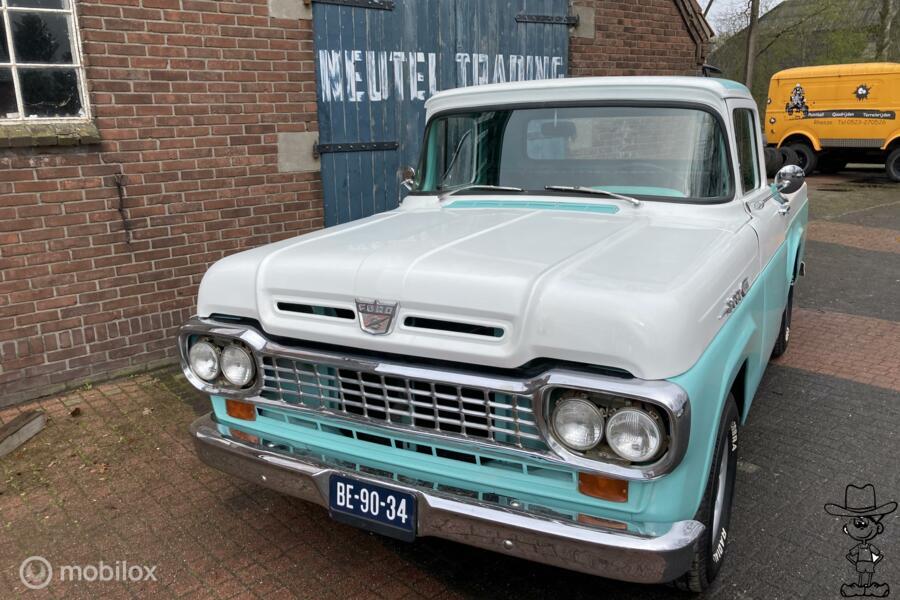 Ford F100 pick-up 4,8 v8 oldtimer f1 f150  f-100 chevrolet