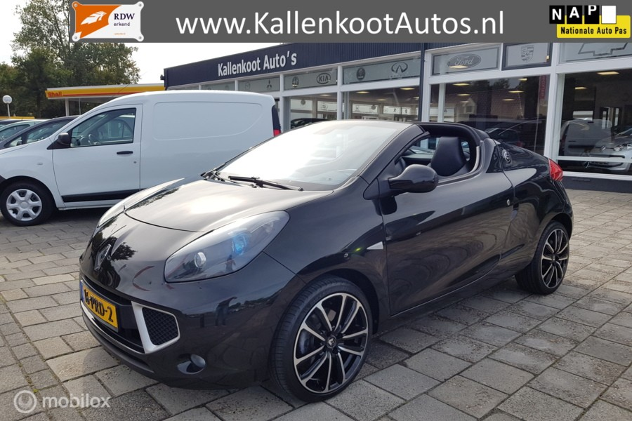 Renault Wind 1.6-16V (133 PK) Exception, Vol leder, Clima?>