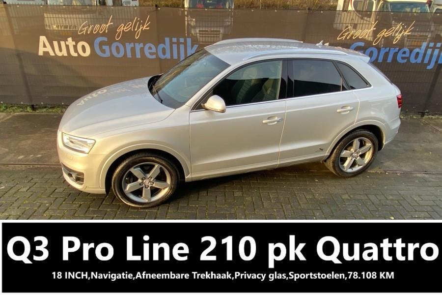 Audi Q3 2.0 TFSI quattro Pro Line 210 PK 78108 KM