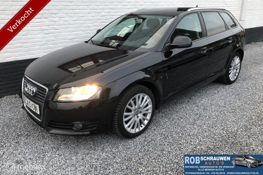 Audi A3 Sportback 1.4 TFSI AUTOMAAT Attraction Pro Line 2009