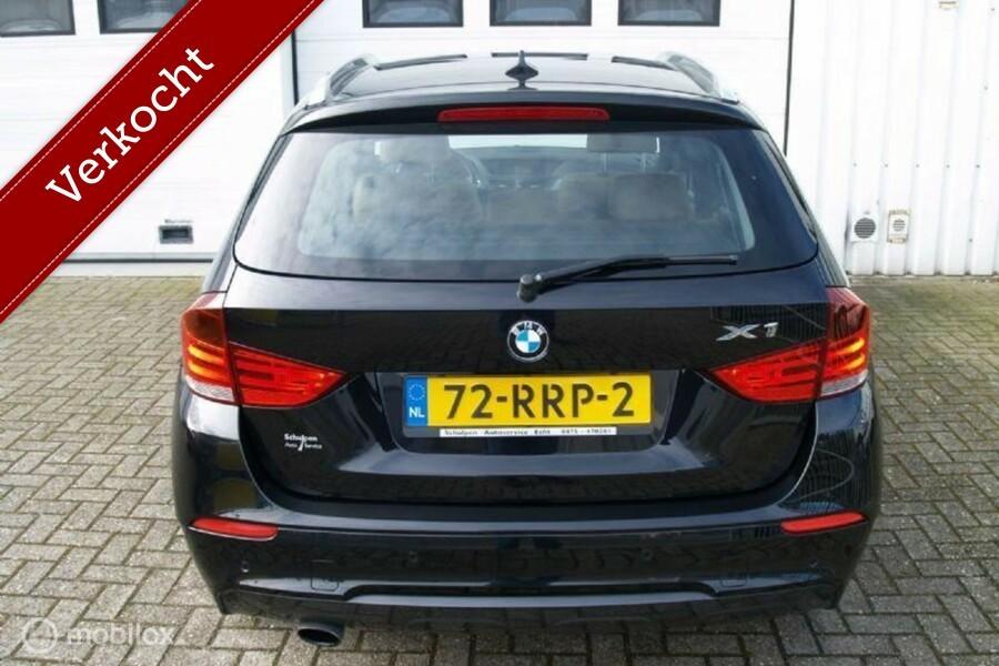 BMW X1 1.8i Panodak Leder Navi Xenon MPakket Mooi