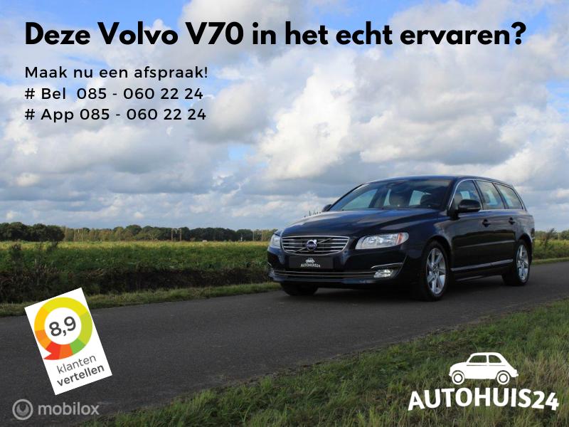 Volvo V70 1.6 D2 Nordic+ Automaat TREKHAAK|NAVI|PDC|ON-CALL