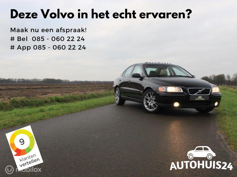 Volvo S60 2.4 140pk Edition II #Verkocht